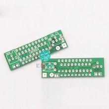 Kits electrónicos de bricolaje LM3914 placa de circuito PCB, módulo indicador de capacidad, probador de nivel de potencia, pantalla LED, 5 uds.
