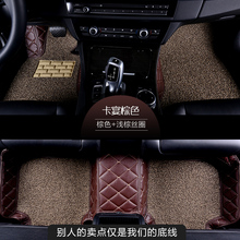 car floor mats for TOYOTA PRADO Highlander TERIOS COROLLA CROWN Solara  Prius Reiz Camry VIOS Previa RAV4 HIACE COASTER Cruiser car floor mats for toyota c hr verso rav4 corolla vios mark x crown avalon highlander camry prado 120 prius 30 car styling liner