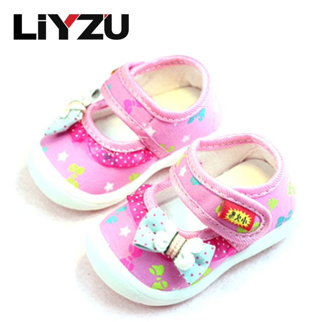 Children's Shoes Baby Girl Toddler Shoes 1-3-year-old Stylish And Comfortable And Warm 2017 Spring Summer New Products Size 1-6