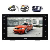 Double Din Capacitive Screen Double Two 2 Din Car Audio GPS Navigation Automotive PC Head Unit