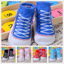 0-12 months Newborn socks Lovely footwear baby socks baby socks spring/summer baby cotton hosiery for solid floor