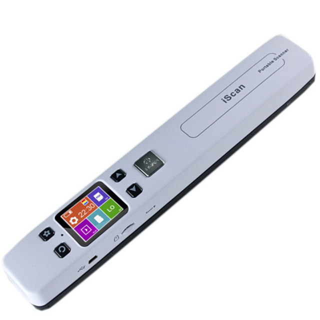 Free shipping The new zero - margin portable scanner handheld HD document painting scanner
