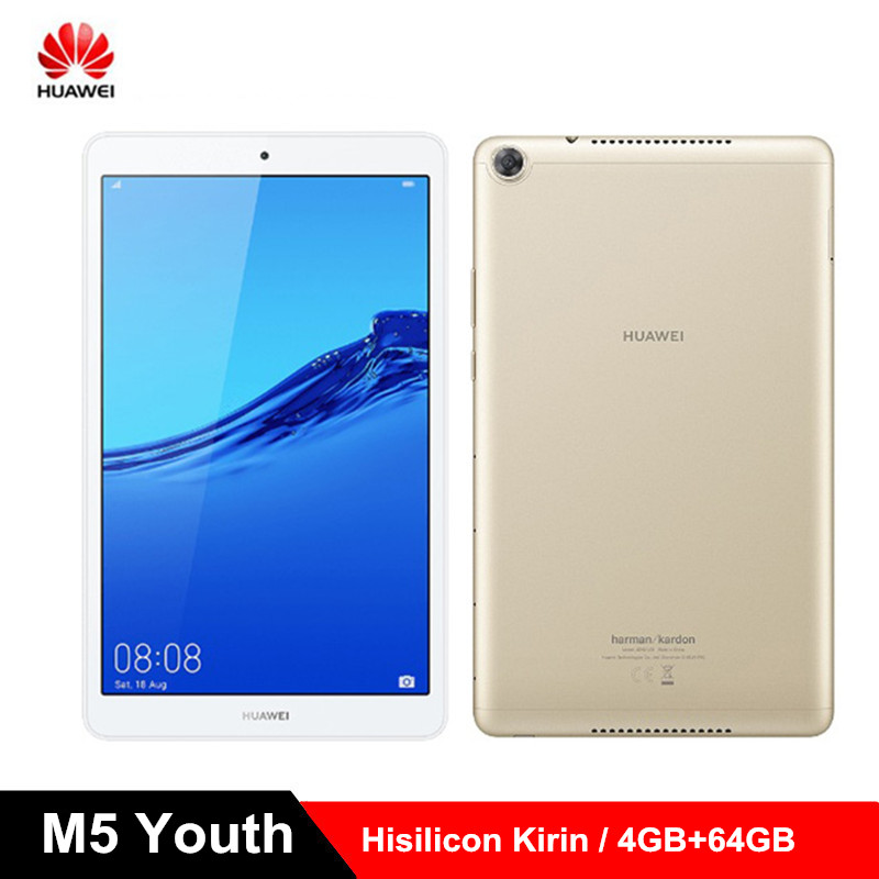 HUAWEI M5 jeunesse tablette PC 8.0 pouces Android 9.0 Hisilicon Kirin 710 2.2 GHz Octa Core CPU 4 GB RAM 64 GB ROM AI Assistant vocal