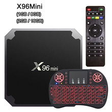 X96 Mini Android Tv Box Android 7.1 Amlogic S905W 2GB 16GB Quad Core Smart Tv 2.4GHz WiFi 4K Media Player 1GB 8GB X96mini стоимость