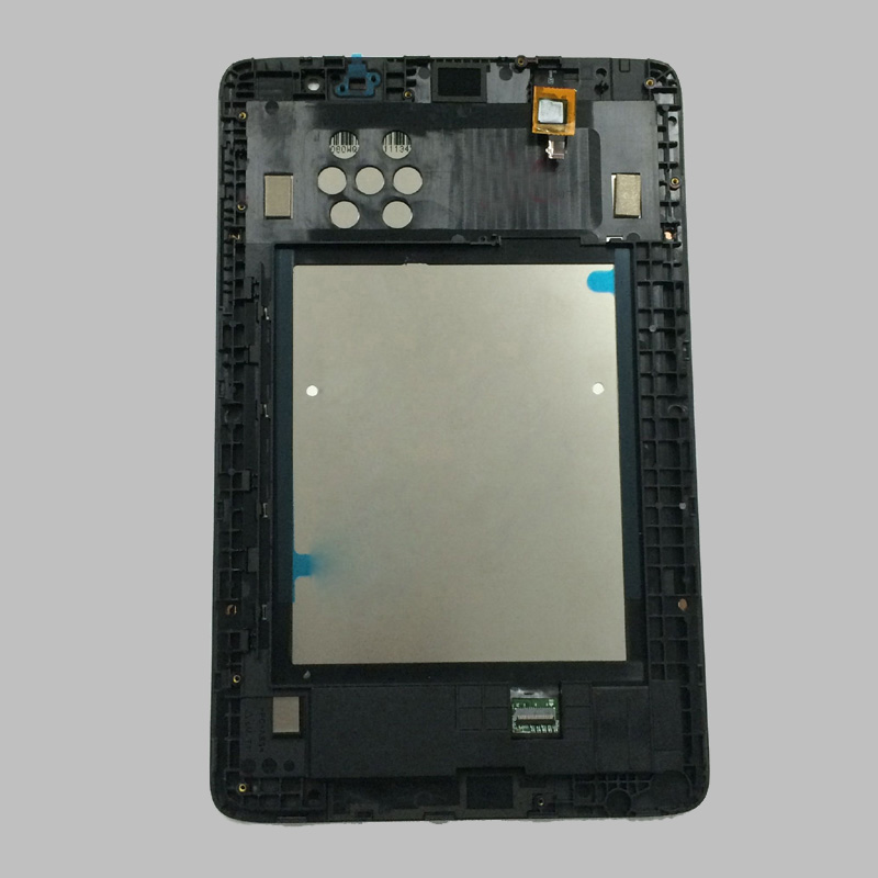 For Lenovo IdeaTab A8-50 A5500 A5500F A5500-H A5500 Touch Screen Digitizer Sensor + LCD Display Panel Monitor Assembly + Frame srjtek 8 for lenovo ideatab a8 50 a5500