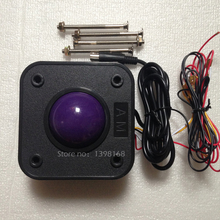 4.5 cm Diamete Round Trackball Mouse for 60 in 1 Arcade Game Machine Accessory for Arcade machine