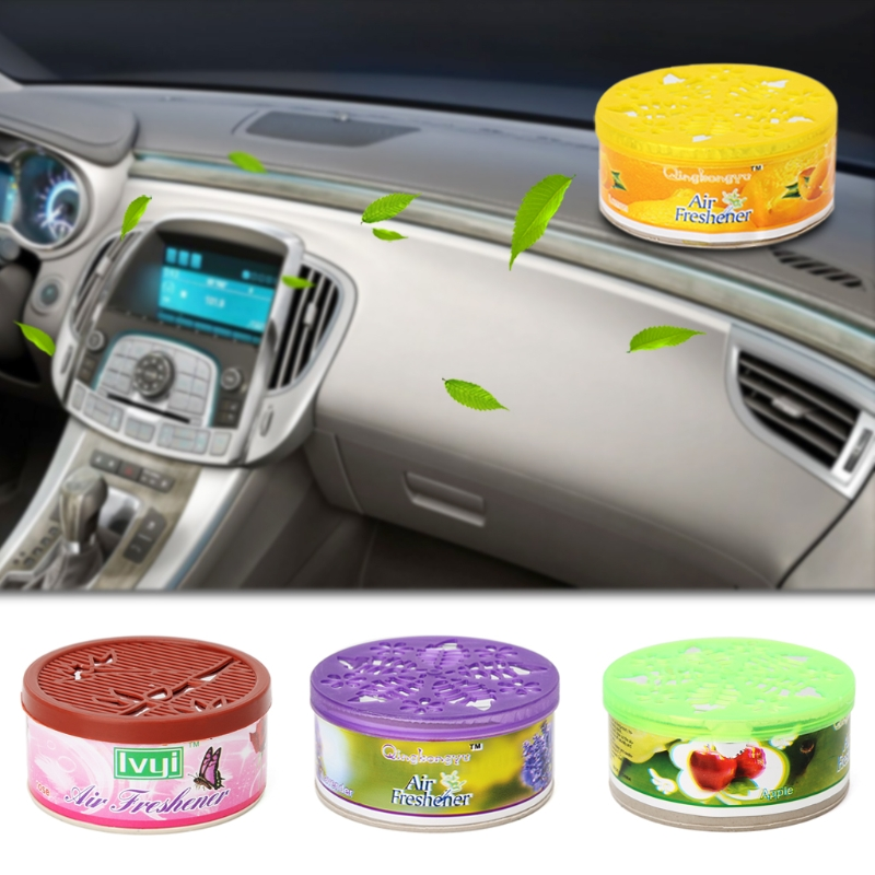 New Universal Indoor Car Home Solid Deodorizing Scent Air Freshener Fragrance For Homes 4 Various Flavors Car Auto Decor