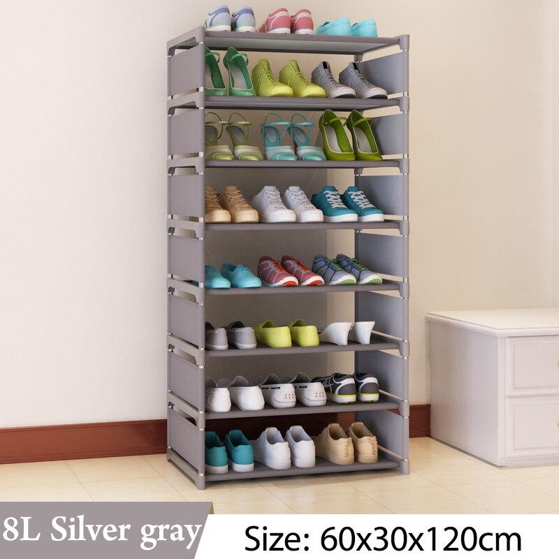Simple Multi Layer Shoe rack Nonwovens Easy