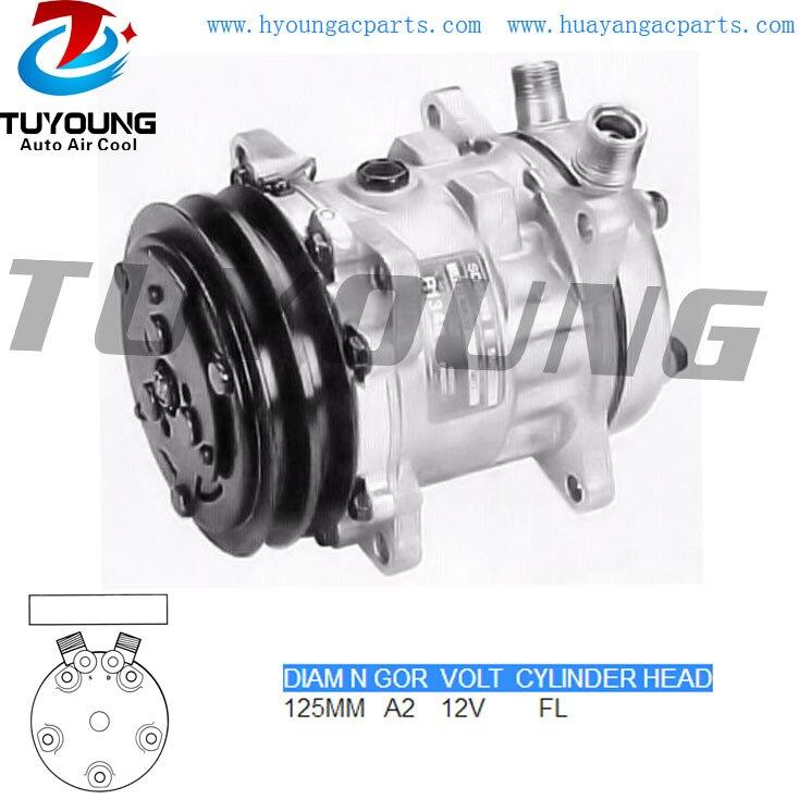 5H09 125MM A2 12V vehicle a/c compressor R134A