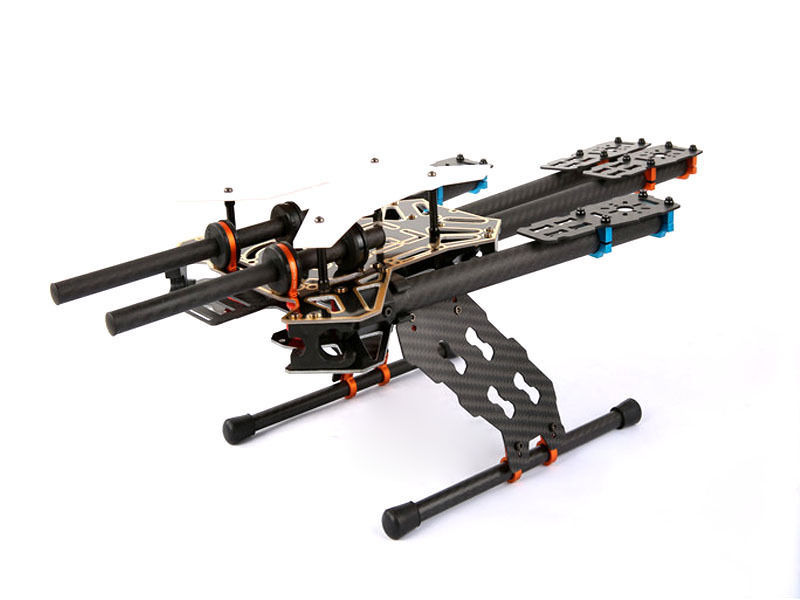 free shipping Ipower XBird Q550 FPV carbon folding fame kit w/ landing gear for gopro 3 4