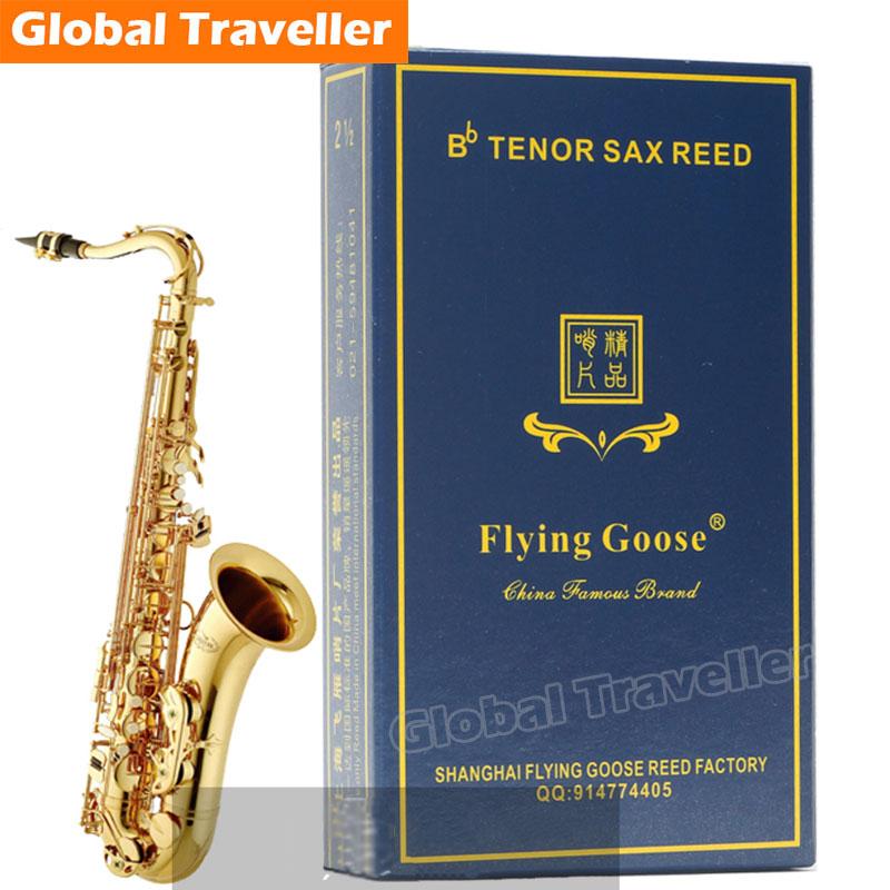 1 laatikko Bb Tenori Sax paksuus 2,5 / 3 klassinen Tenori Sax-ruoko Tenorien suosituin saksofonimuna Pop klassinen saksofonimuna