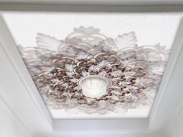 D soffitto personalizzare sfondi per soggiorno camera bel fiore