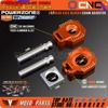 POWERZONE Rear Axle Blocks Chain Adjuster For KTM 125 250 300 350 450 525 530