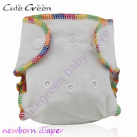 Reusable Bamboo Velour Baby Fitted Cloth Diaper Bamboo Cotton Washable Baby Daipers Baby Nappies Newborn Cloth