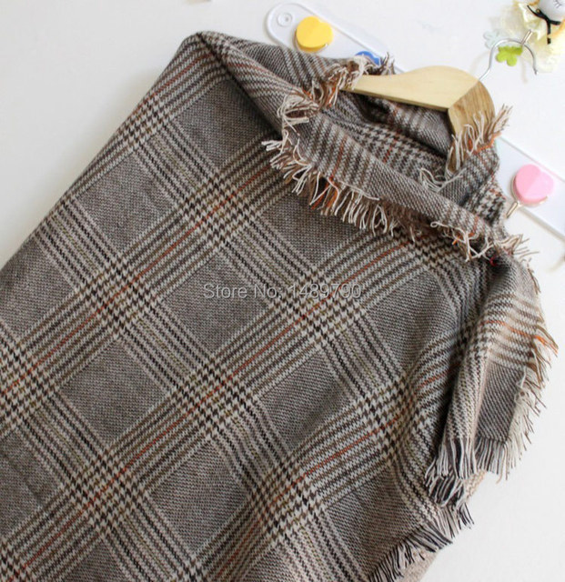 2014 New fashion burb Grid trench plaid Brand Silk men chiffon seda print ring shawl Long Scarves men