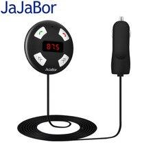 JaJaBor Автомобильный Комплект AUX Bluetooth Громкой связи Аудио Музыка MP3 плеер FM Передачи USB Автомобильное Зарядное Устройство Для Всех видов телефон