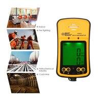 SMART Сенсор Портативный Высокочувствительный угарного газа Сенсор монитор ЖК дисплей Дисплей 2 в 1 угарного газа/сероводород детектор