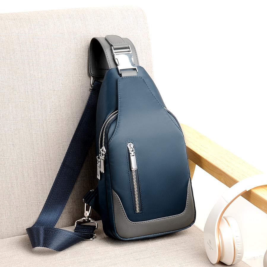 Backpacks Womens New Fashion Oxford Cloth With Leather Shoulder Bag Vertical Mens Fashion Oxford Cloth With Leather Shoulder Bag