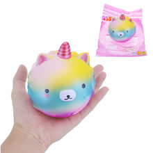 10cm S quishy Galaxies U nicorn Slow Rising With Packaging Collection Gift Soft Toy(China)