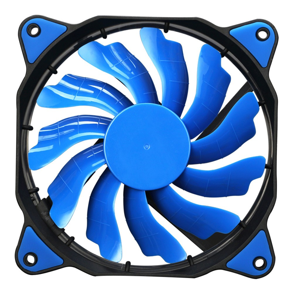 Hot sale Quiet pc cpu cooler <font><b>120</b></font> <font><b>mm</b></font> <font><b>fan</b></font> 12V 3+4pin LED effects Clear Computer <font><b>Fan</b></font> For Radiator Mod image