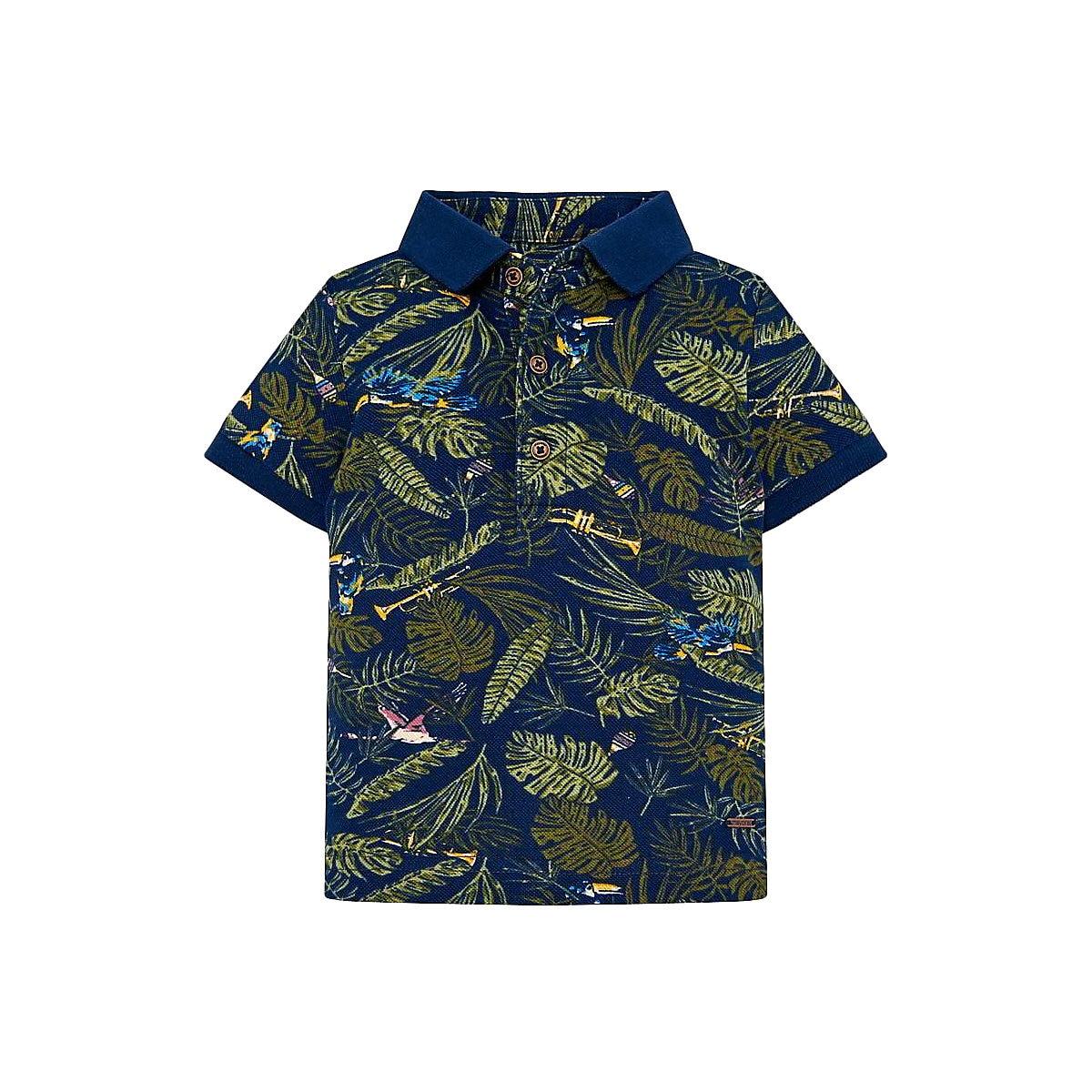 MAYORAL Polo Shirts 10685220 children clothing t-shirt shirt the print for boys tiger 3d print basic t shirt