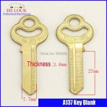 Ciruela candado embriones dejó ranura llave de la puerta en blanco suministros de cerrajería llaves en blanco cilvil Horizontal clave máquina A137