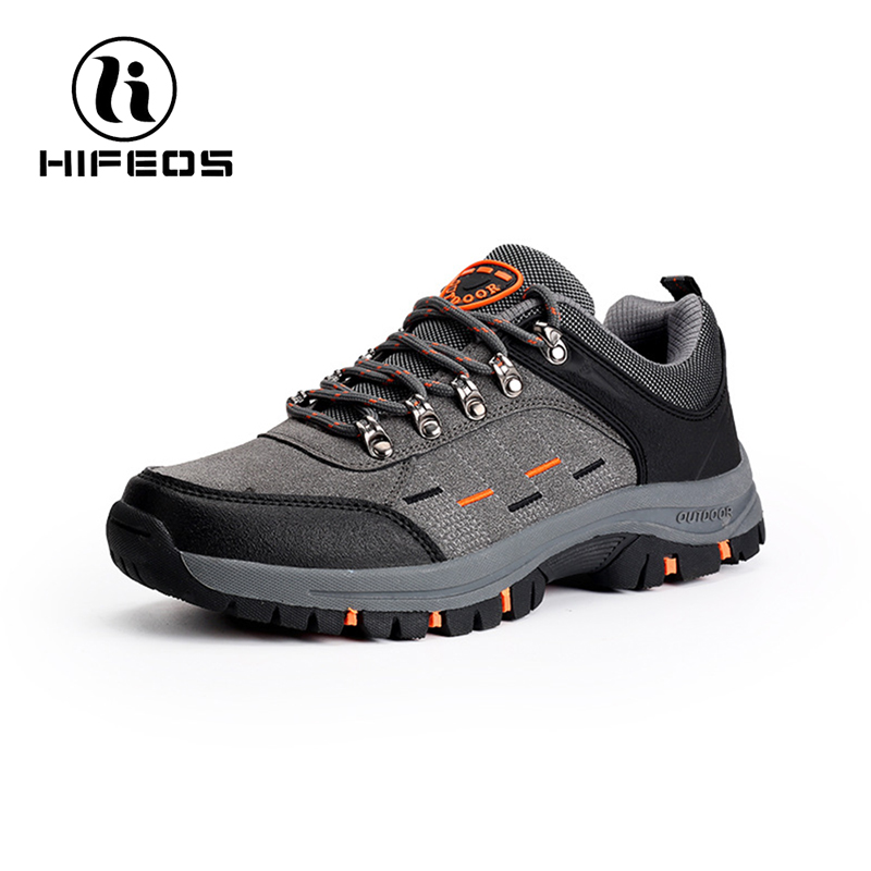 HIFEOS hiking outdoor shoes couple wemen size low-top boots non-slip climbing wear-resistant comfortable sneakers tourism M011 цена и фото