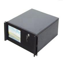 4U с сенсорным экраном, шасси, промышленные шкаф управления, интеллектуальный сервер шасси, промышленного управления интегрированным шасси