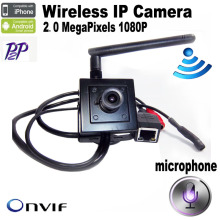 Mini IP Camera wireless 1080P cameras wifi CCTV Video audio Camera indoor H.264 Smallest 2.0 MegaPixels P2P home security cam