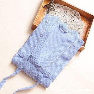 Image 3 - Nóng Slae Bánh Cotton Kimono Áo Tắm Nữ Gợi Cảm Plus Kích Thước Hút Nước Phù Dâu Áo Choàng nữ Đầm Bầu Thu Đông Áo Dây Femme