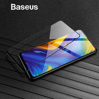 Baseus 0.3mm Thin Protective Glass For Xiaomi Mix 3 Screen Protector 9H Scratch Proof Anti Blue Tempered Glass For Xiaomi Mix3 Phone Screen Protectors