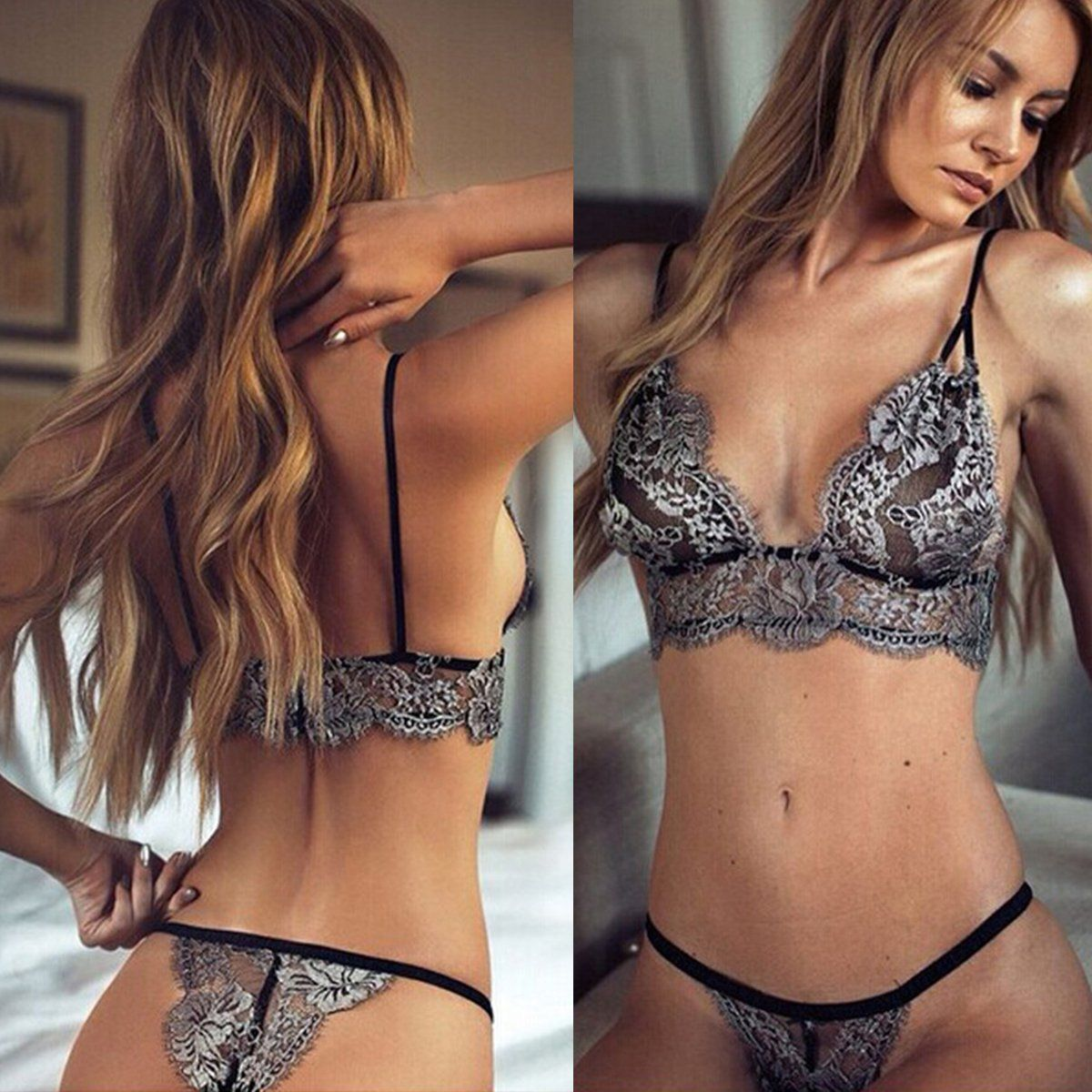 e6e10800098 sexy T pants romantic temptation lace bra set young women underwear set  lade bra and panty set-in Bra   Brief Sets from Women s Clothing    Accessories on ...