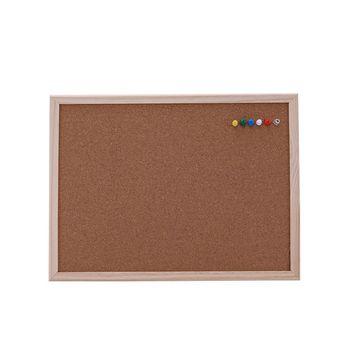 30*40cm tablica korkowa tablica do pisania drewno sosnowe ramki biały deski Home biura dekoracyjne tanie i dobre opinie WROEUT Zawieszenie Typu Noticeboard Cork With Pine Frame Pine Wood