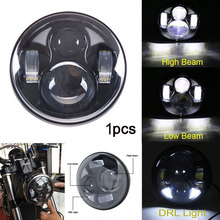 5.75″ LED Projector Headlight W/ DRL for Harley Softail Forty Eight Seventy Two