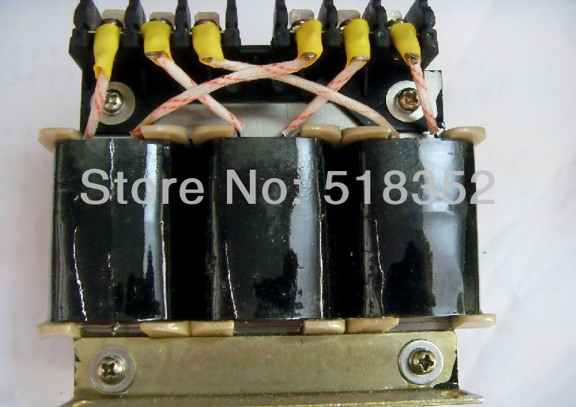 500W Three Phase Autotransformer General Type for Wire EDM Machine Electrical Parts, 380V Input, 230V-260V-290V Output three phase general frequency converter 2 2kw 380v three phase motor warranty 18 delta