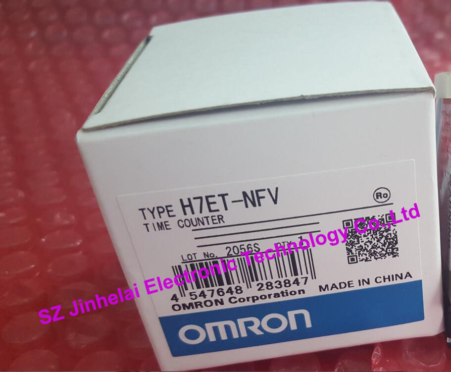 100%New and original H7ET-NFV  OMRON  24-240V new and original e3x da11 s omron optical fiber amplifier photoelectric switch 12 24vdc