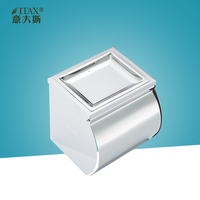 ITAS3335 304Stainless steel manual holder paper towel dispenser toilet tack tissue wipe home bathroom finish stain box rack cup