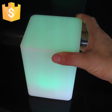 Waterproof LED Cube Light Square Outdoor decorative light-emitting cube square shape colorful lights