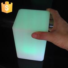 Waterproof LED Cube Light LED Square Light Cube Outdoor decorative LED light-emitting cube square shape colorful lights waterproof colorful led cube night light vc a300