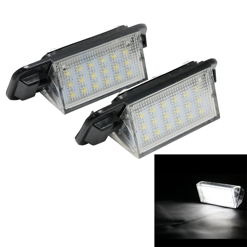 2x LED License Plate Light Lamp 18SMD White Error Free For BMW E36 M3 318i 318is 318ti 320i 323i 325i 325is 328i 328is 1992-1999 2pcs lot 24 smd car led license plate light lamp error free canbus function white 6000k for bmw e39 e60 e61 e70 e82 e90 e92