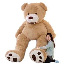 Огромный Размер 200 см США Гигантский Медведь Кожи Плюшевого Мишку Корпус, Супер Качество, Оптовая Цена Продажи Игрушки Для девушки