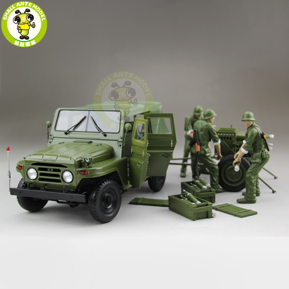 все цены на 1/18 BJC JEEP 212 with Cannon Army Military SUV Diecast alloy Metal suv car model Toy Boy Girl Birthday Gift Collection Hobby онлайн