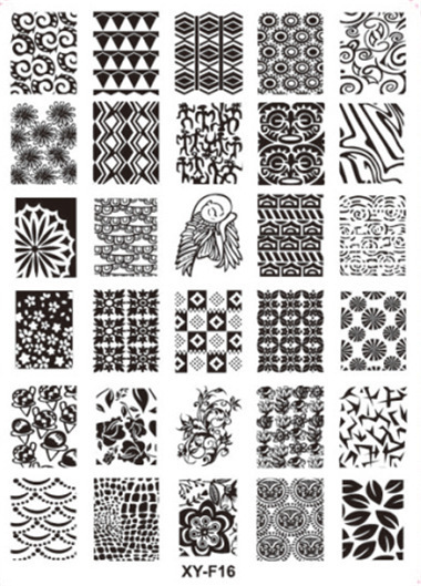 20pcs Printing templates Nail stamper stamping plates Printing professional plastic Template for Nail art  --CJNS1021 10pcs nail art stamping printing skull style stainless steel stamp for diy manicure template stencils jh461 10pcs