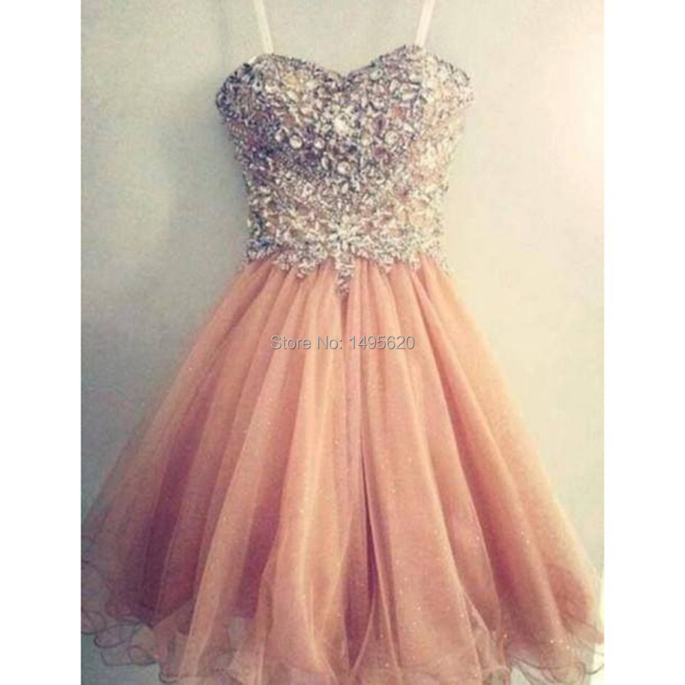 Popular Coral Short Prom Dresses-Buy Cheap Coral Short Prom ...