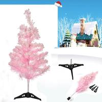 24 Inch Artificial Christmas Tree Decoration 60CM Small Artificial PVC Holiday Decoration Home Store Decor Dropshipping