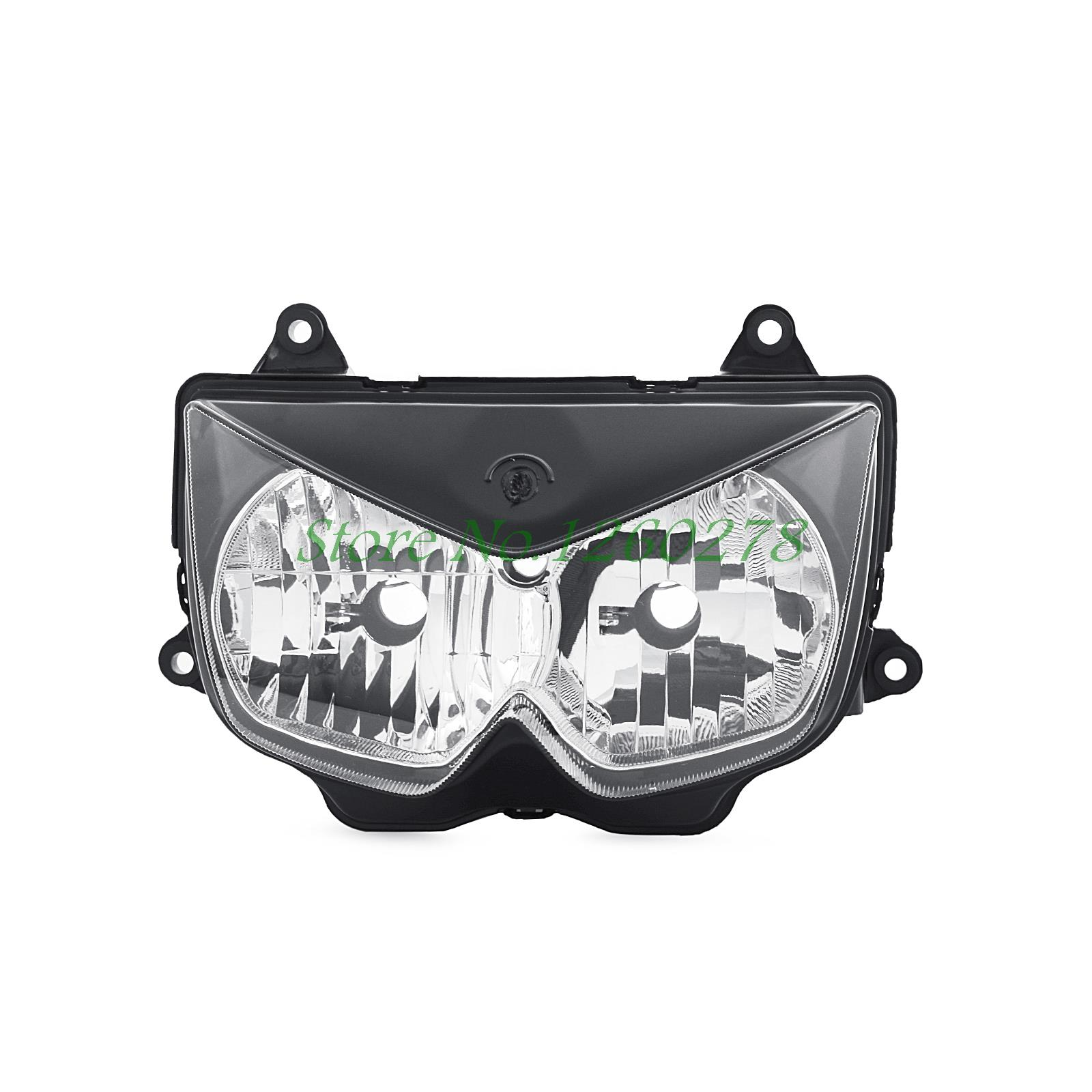 High Quality Motorcycle ABS Plastic Replacement Headlamp Headlight For Kawasaki Ninja 250R 2008 -2012 Z1000 2003-2006