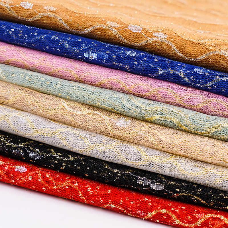 Sari Vải Ấn Độ Lấp Lánh Lưới Vải May Áo Và Vũ Trang Phục Trang Trí Giáng Sinh 90*150 Cm/ bộ Tj04263