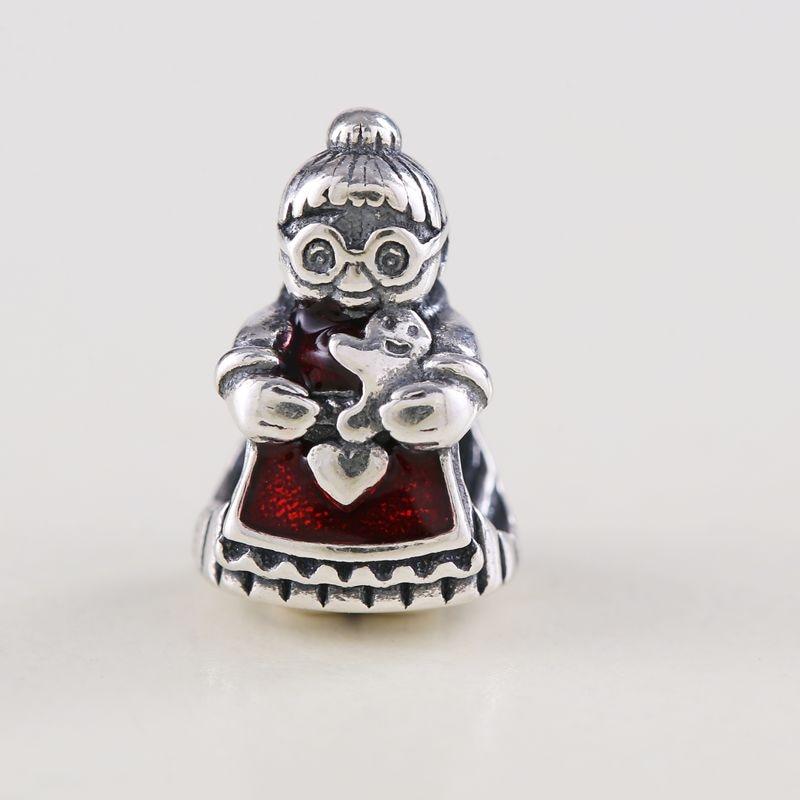 Genereus 2018 925 Sterling Zilver Kraal Fit Originele Pandora Schort Grootmoeder Charm Armband Ketting Charm Hanger Diy Sieraden Maken