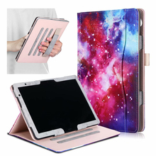 Funda For Huawei MediaPad T5 AGS2-W09/L09/L03/W19 10.1 inch Tablet PU Leather Smart Cover For Huawei MediaPad M5 Lite 10 Case slim business retro flip stand cover case for huawei mediapad m5 lite 10 case bah2 w09 bah2 l09 bah2 w19 10 1 tablet shell