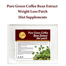 FiiYoo 3 bottles supply Pure green coffee been extracts diet patch for weight loss 100% effective slimming fast man & woman